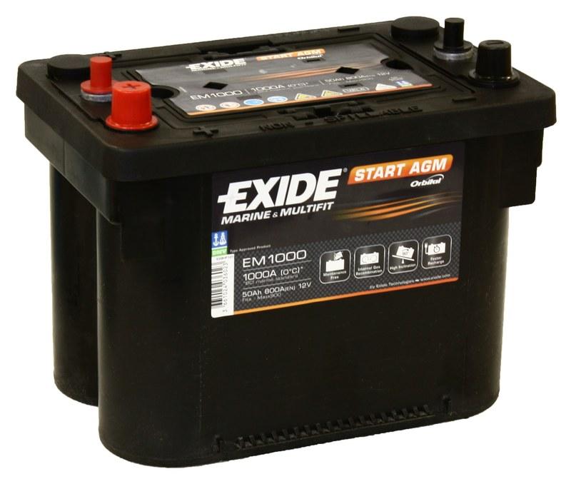 Аккумулятор для легкового автомобиля Exide Start-Stop AGM EK508 50 Ач Пр - фото 5