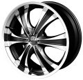 ANTERA 385 9,5x20 6x139,7 ET30 78,1 Diamond Black Front and Lip Polished