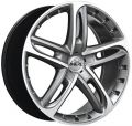 ANTERA 501 8,5x19 5x114,3 ET32 75 Racing Black Front Polished
