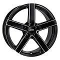 ATS Emotion 7,5x17 5x120 ET37 72,6 Diamond Black Front Polished